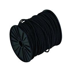 Sandow cable élastique NOIR en bobine