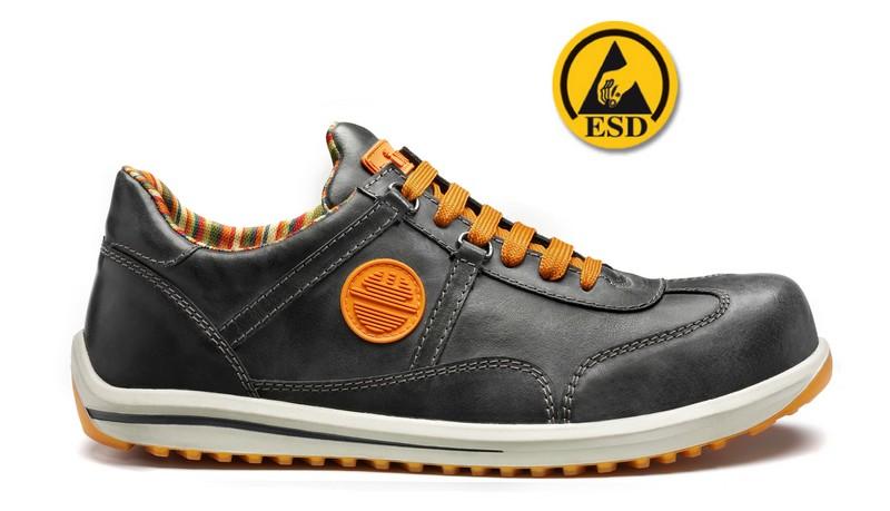 Chaussure de Sécurité Basse RACY<br /> S3 SRC ESD Anthracite | 26012-201 | DIKE | Du 38 au 48