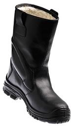 Botte de Sécurité Fourrée Noir S3 SRC CI Powerlite | Cuir Pleine Fleur Buffle | Europrotection | Du 38 AU 47