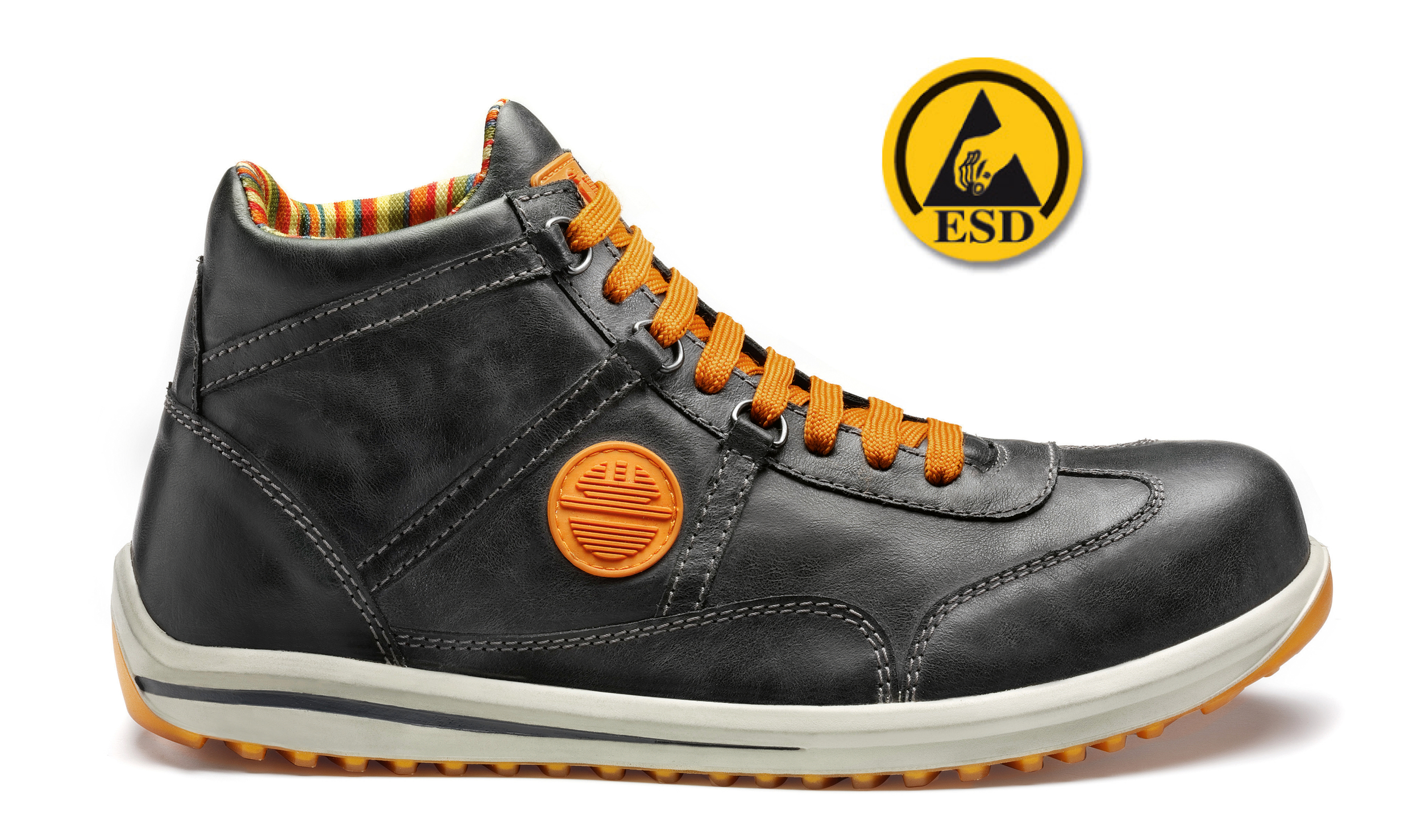 Chaussure de Sécurité Haute RACY</b> S3 SRC ESD Anthracite | 26022-201 | DIKE | Du 38 au 48