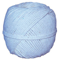 Cordeau Coton Câblé | Spécial maçons | Pelote de 100 Grs | Existe en Diamètre 1, 1,5, 2, 2,5, 3 mm et 4 mm