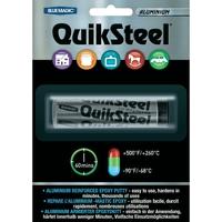Quiksteel Spécial Aluminium 55 Grs | Mastic Epoxy | Hautes Températures | Soudure à Froid | Réf : 16402