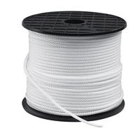 Drisse Polyamide en Bobine ALP | Coloris Blanc | 8 Fuseaux | Différents diamètres : Du 1 mm au 14 mm | Longueur : 100 Mètres