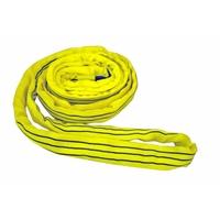 Élingue de Levage Textile Ronde sans Fin Jaune | CMU = 3 TONNES | Existe en 3 mètres et 4 mètres