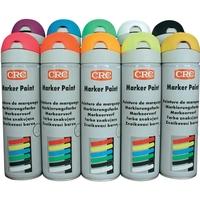 Peinture Aérosol Traceur Multiposition 360° | Marker Paint | CRC | 500 ml | Existe en différents coloris