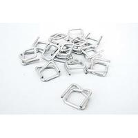 Boucles de Cerclage pour Feuillard Textile | Largeur : 13 et 19 mm | Existe en LOT de 100 et 1000 Boucles