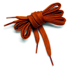 Paire de Lacets en Coton DIKE | Longueur : 135 cm | Coloris : Orange ocre
