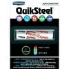 Quiksteel Plastic Repair BLANC 55 Grs | Spécial Support Plastique | Fibre de Verre et Céramique | 16502