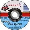 Disque à tronçonner Inox AS-46T | DRONCO | Forme Plat