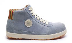 Basket Basse de sécurité Bleu S1P Style Converse Blues Low