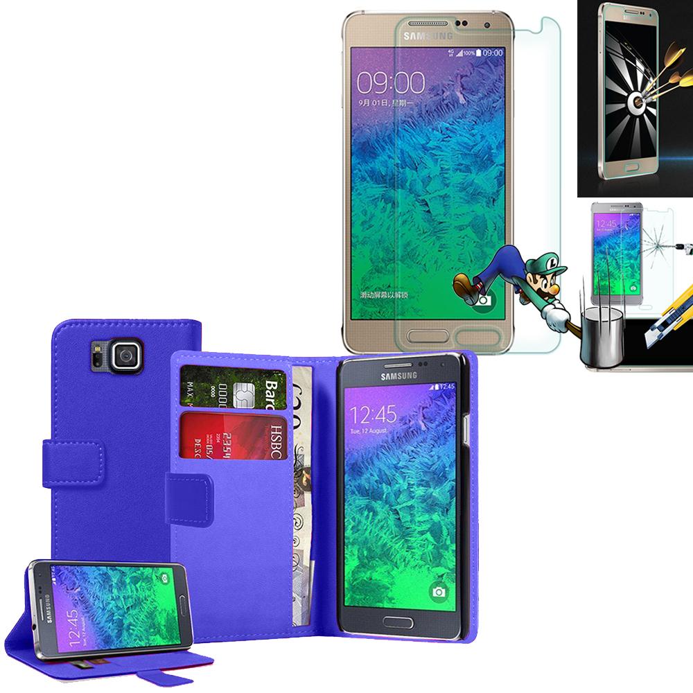 basket ikks homme Samsung Galaxy Alpha SM-G850F/ Galaxy Alfa/ Alpha (S801)/  G850FQ: Etui Coque Housse Pochette Accessoires portefeuille support video