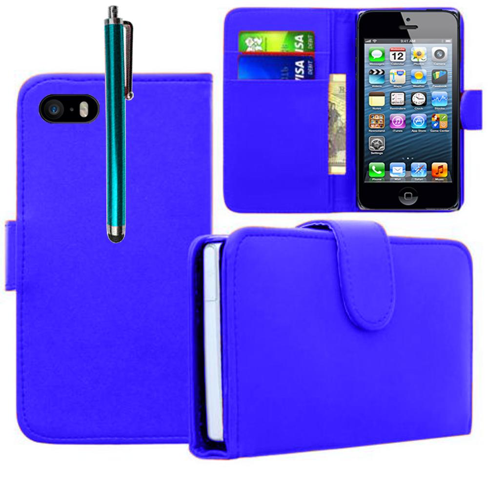 lou ravage wiki Apple iPhone 5/ 5S/ SE: Accessoire Etui portefeuille Livre  Housse Coque Pochette cuir PU + Stylet - BLEU FONCE
