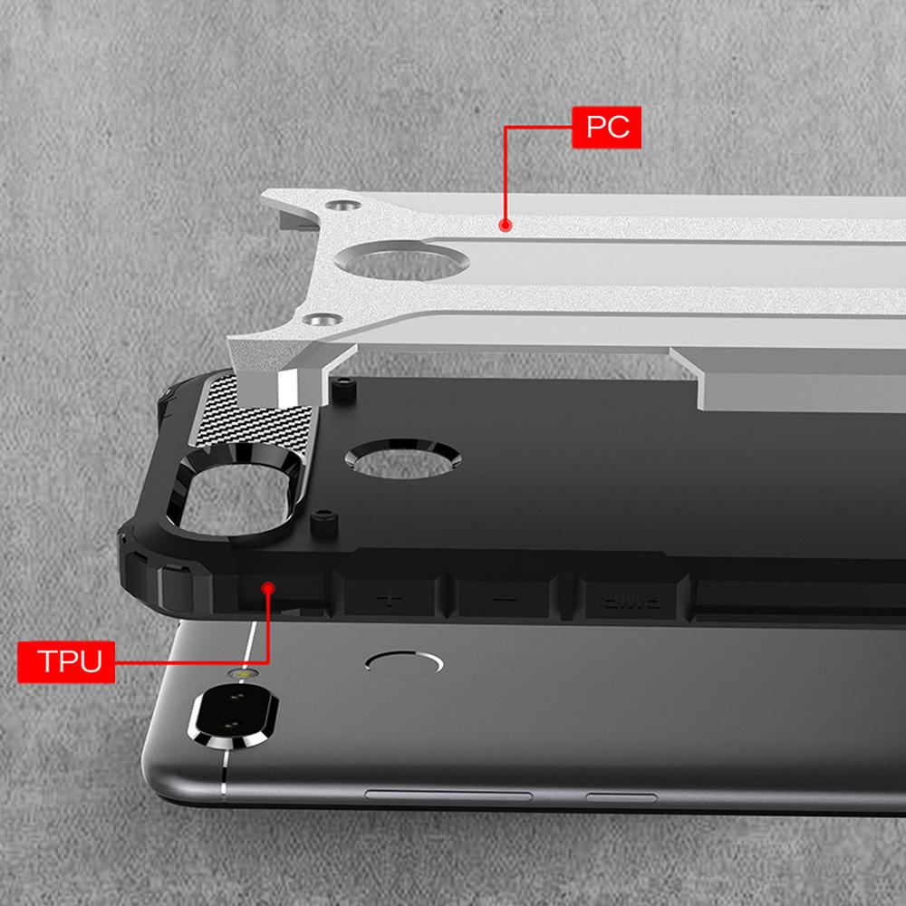 À Hybrid Antichoc Paris Rugged Neo 6 5 Mois Armor Argent 45Coque Xiaomi Sortie Redmi Avril CarboneStylet Au FJ1TclK
