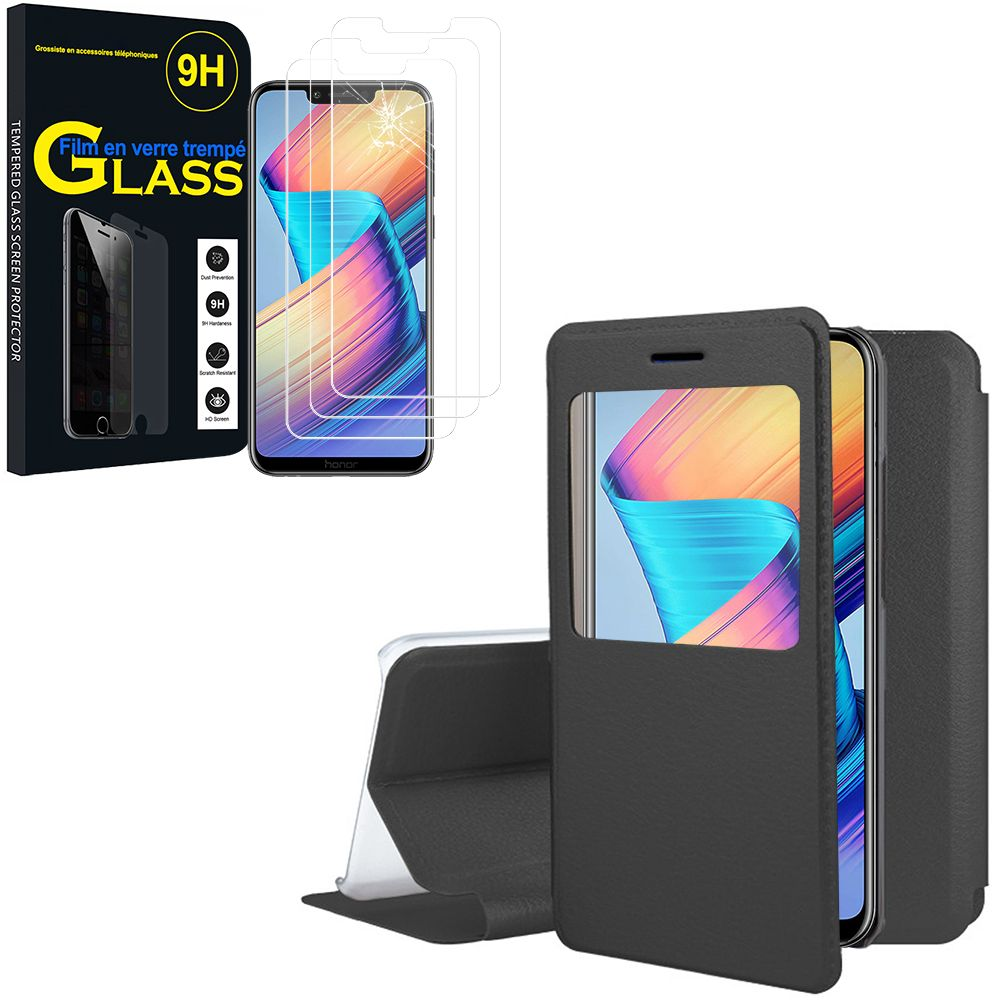 Cell Phone Accessories Cell Phones & Accessories Film Verre Trempé Pour Huawei Mate 10 10pro New Varieties Are Introduced One After Another 360° Full Cover Etui Coque Housse