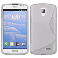 LG F70 D315/ LTE: Accessoire Housse Etui Pochette Coque S silicone gel - TRANSPARENT