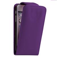 Apple iPhone 5/ 5S/ SE: Accessoire Etui Housse Coque Pochette simili cuir - VIOLET