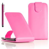 LG F70 D315/ LTE: Accessoire Etui Housse Coque Pochette simili cuir + Stylet - ROSE