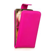 LG G2 D802/ D803/ VS980: Accessoire Etui Housse Coque Pochette simili cuir - ROSE