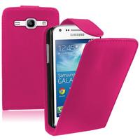 Samsung Galaxy Core Plus G3500/ Trend 3 G3502: Accessoire Etui Housse Coque Pochette simili cuir - ROSE