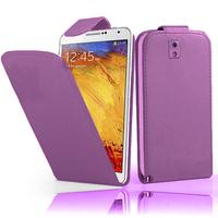 Samsung Galaxy Note 3 N9000/ N9002/ N9005/ N9006: Accessoire Etui Housse Coque Pochette simili cuir - VIOLET