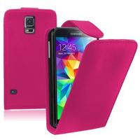 Samsung Galaxy S5 V G900F G900IKSMATW LTE G901F/ Duos / S5 Plus/ S5 Neo SM-G903F/ S5 LTE-A G906S: Accessoire Etui Housse Coque Pochette simili cuir - ROSE