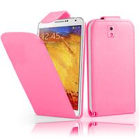 Samsung Galaxy Note 3 N9000/ N9002/ N9005/ N9006: Accessoire Etui Housse Coque Pochette simili cuir - ROSE