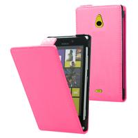 Nokia Lumia 1320: Accessoire Housse coque etui cuir fine slim - ROSE