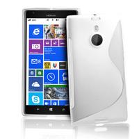 Nokia Lumia 1520: Accessoire Housse Etui Pochette Coque S silicone gel - BLANC
