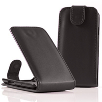 Acer Liquid Z5 Duos: Accessoire Etui Housse Coque Pochette simili cuir - NOIR
