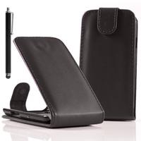 Acer Liquid Z5 Duos: Accessoire Etui Housse Coque Pochette simili cuir + Stylet - NOIR
