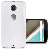 Motorola Nexus 6/ Nexus X: Accessoire Housse Etui Pochette Coque S silicone gel - BLANC