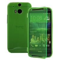 HTC One (M8)/ One M8s/ Dual Sim/ (M8) Eye/ M8 For Windows/ HTC Butterfly 2: Accessoire Coque Etui Housse Pochette silicone gel Portefeuille Livre rabat - VERT
