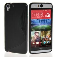 HTC Desire Eye: Accessoire Housse Etui Pochette Coque S silicone gel - NOIR