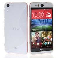 HTC Desire Eye: Accessoire Housse Etui Pochette Coque S silicone gel - TRANSPARENT