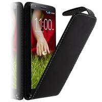 LG G2 Mini LTE Dual Sim D618 D620 D620R D620K: Accessoire Etui Housse Coque Pochette simili cuir - NOIR