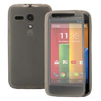 Motorola Moto G X1032/ Forte/ Grip Shell/ LTE 4G: Accessoire Coque Etui Housse Pochette silicone gel Portefeuille Livre rabat - TRANSPARENT