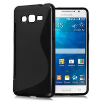 Samsung Galaxy Grand Max SM-G720N0: Accessoire Housse Etui Pochette Coque S silicone gel - NOIR