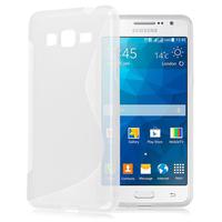 Samsung Galaxy Grand Max SM-G720N0: Accessoire Housse Etui Pochette Coque S silicone gel - TRANSPARENT