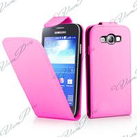 Samsung Galaxy S3 mini i8190/ i8200 VE: Accessoire Etui Housse Coque Pochette simili cuir - ROSE-PALE