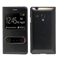 Samsung Galaxy S3 mini i8190/ i8200 VE: Accessoire Coque Etui Housse Pochette Plastique View Case - NOIR