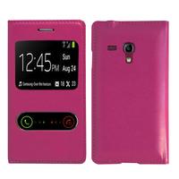 Samsung Galaxy S3 mini i8190/ i8200 VE: Accessoire Coque Etui Housse Pochette Plastique View Case - VIOLET