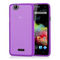 Wiko Rainbow 4G: Accessoire Housse Etui Pochette Coque silicone gel - VIOLET
