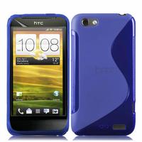 HTC One S/ Special Edition: Accessoire Housse Etui Pochette Coque S silicone gel - BLEU