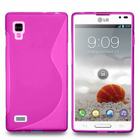 LG Optimus L9 P760/ P765/ P768: Accessoire Housse Etui Pochette Coque S silicone gel - ROSE