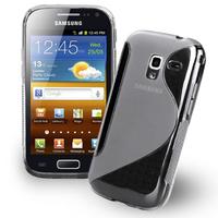Samsung Galaxy Ace 2 i8160: Accessoire Housse Etui Pochette Coque S silicone gel - TRANSPARENT