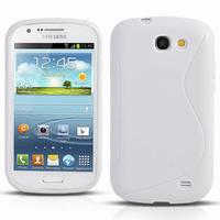 Samsung Galaxy Express I8730: Accessoire Housse Etui Pochette Coque S silicone gel - BLANC
