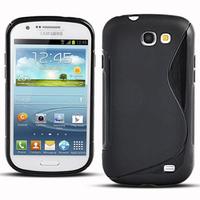 Samsung Galaxy Express I8730: Accessoire Housse Etui Pochette Coque S silicone gel - NOIR