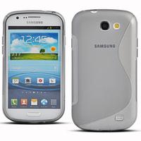 Samsung Galaxy Express I8730: Accessoire Housse Etui Pochette Coque S silicone gel - TRANSPARENT
