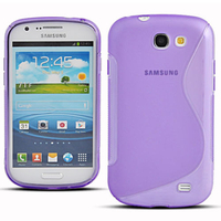 Samsung Galaxy Express I8730: Accessoire Housse Etui Pochette Coque S silicone gel - VIOLET