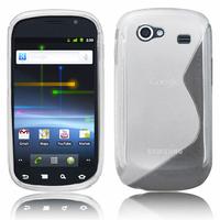 Samsung Nexus S i9020/ i9023: Accessoire Housse Etui Pochette Coque S silicone gel - BLANC